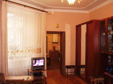 1-комнатная квартира посуточно в Львове. Галицкий район, ул. Городоцкая, 115. Фото 1