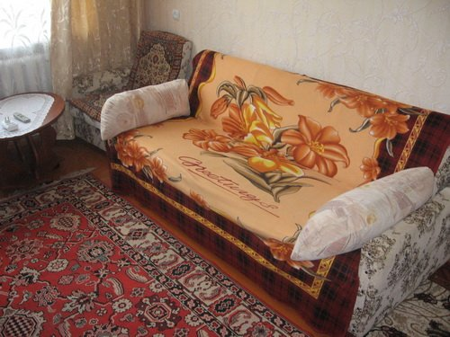 1-комнатная квартира посуточно в Севастополе. Гагаринский район, ул. Адмирала Юмашева, 17. Фото 1