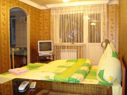 1-комнатная квартира посуточно в Запорожье. Орджоникидзевский район, ул.40Лет Сов.Украины, 63. Фото 1
