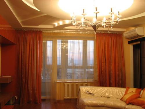 2-комнатная квартира посуточно в Знаменке. ул. Грушевского (Октябрьская), 22. Фото 1
