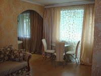 1-комнатная квартира посуточно в Донецке. Ворошиловский район, ул. Челюскинцев, 127. Фото 1
