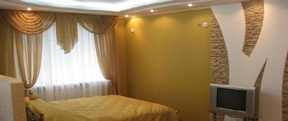 1-комнатная квартира посуточно в Енакиево. 50 лет Октября, 60. Фото 1