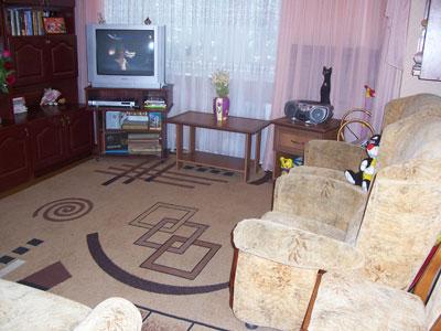 2-комнатная квартира посуточно в Севастополе. Гагаринский район, ул.Фадеева. Фото 1