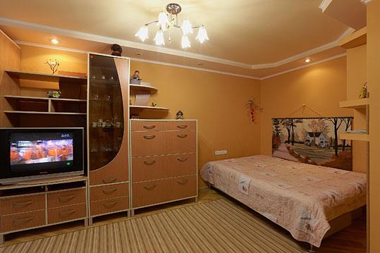 1-комнатная квартира посуточно в Львове. Франковский район, ул.Сахарова, 44. Фото 1