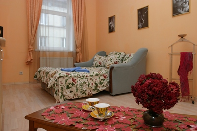 1-комнатная квартира посуточно в Львове. Галицкий район, ул. Коперника, 39. Фото 1