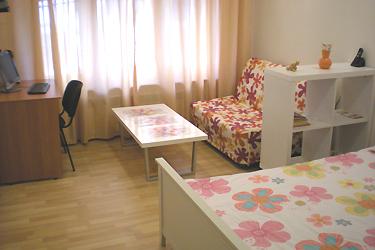 1-комнатная квартира посуточно в Харькове. Киевский район, ул. Сумская, 44/2. Фото 1