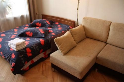 1-комнатная квартира посуточно в Киеве. Шевченковский район, M. Житомирская, 16. Фото 1