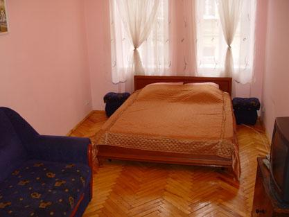 1-комнатная квартира посуточно в Львове. Зализнычный район, ул. Одесская, 15. Фото 1