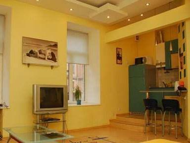 1-комнатная квартира посуточно в Киеве. Печерский район, Бассейная, 3. Фото 1