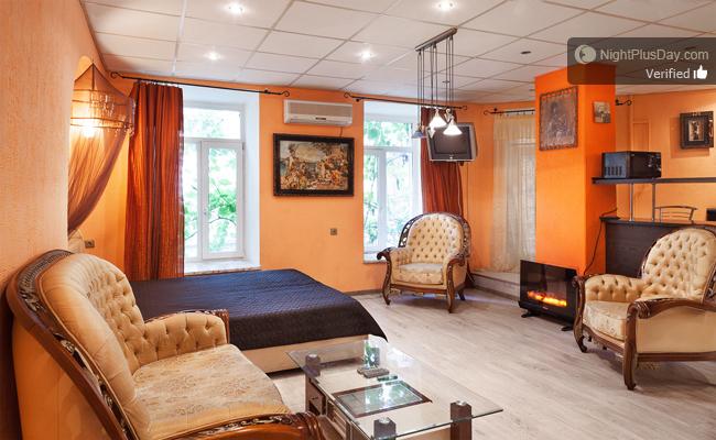 1-комнатная квартира посуточно в Одессе. Приморский район, пл. Екатерининская, 6. Фото 1