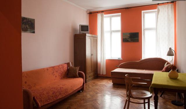 1-комнатная квартира посуточно в Львове. Зализнычный район, ул. Городоцька, 80. Фото 1