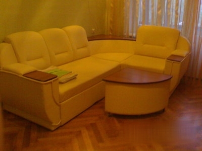 1-комнатная квартира посуточно в Киеве. Днепровский район, ул. Тампере, 6. Фото 1