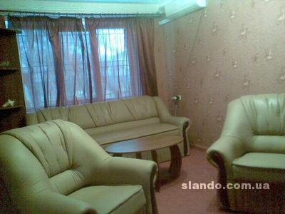2-комнатная квартира посуточно в Феодосии. Соломенский район, Центр. Фото 1