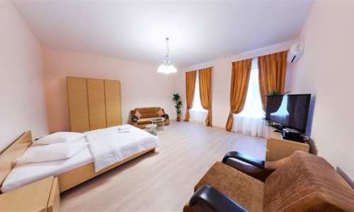 1-комнатная квартира посуточно в Киеве. Голосеевский район, ул. Льва Толстого, 41. Фото 1