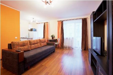1-комнатная квартира посуточно в Львове. Лычаковский район, ул. Туган-Барановского, 9-А. Фото 1