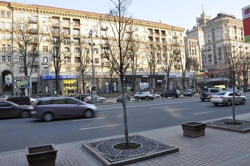 3-комнатная квартира посуточно в Киеве. Печерский район, ул. Крещатик, 21. Фото 1