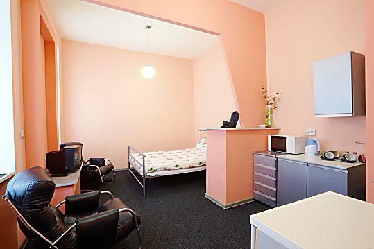 1-комнатная квартира посуточно в Львове. Галицкий район, ул. И. Франко, 78. Фото 1