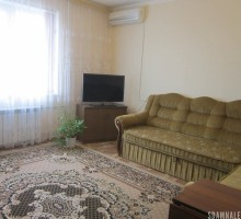 1-комнатная квартира посуточно в Вишнёвом. ул. Машиностроителей, 1а. Фото 1