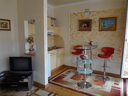 1-комнатная квартира посуточно в Одессе. Приморский район, ул. Греческая, 48. Фото 1