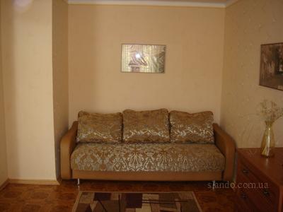 1-комнатная квартира посуточно в Одессе. Малиновский район, ул.Фонтанская дорога, 2. Фото 1