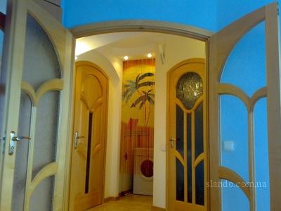 1-комнатная квартира посуточно в Киеве. Днепровский район, Луначарского,. Фото 1