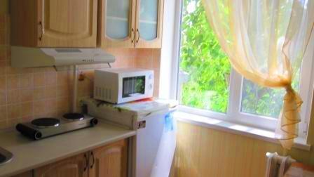 1-комнатная квартира посуточно в Керчи. ул. Ульяновых, 74. Фото 1