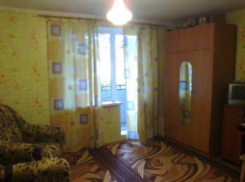 Однокомнатная квартирапосуточно в Курортном. ул. Черноморская, 12. Фото 1