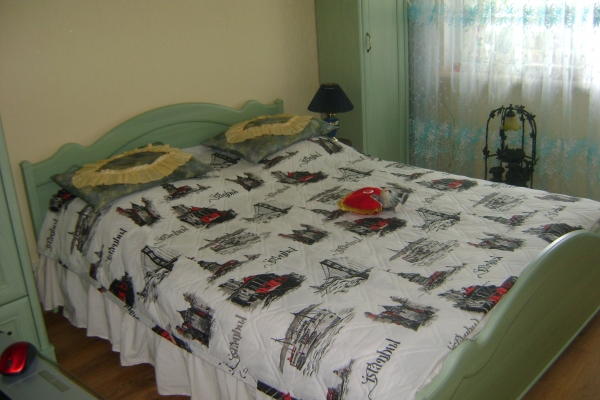 Однокомнатная квартирапосуточно в Житомире. ул. Пушкинская, 27-А. Фото 1