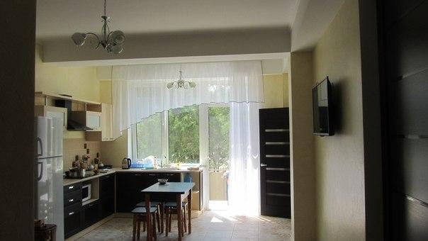 Двухкомнатная квартирапосуточно в Евпатории. ул. Полупанова, 27а. Фото 1