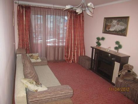 Двухкомнатная квартирапосуточно в Львове. Железнодорожный район, ул. Ивана Виговского, 41. Фото 1