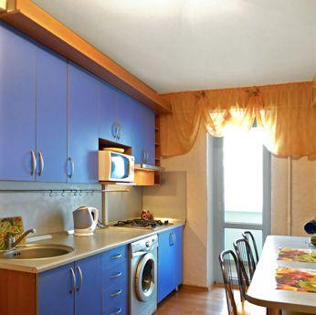 1-комнатная квартира посуточно в Севастополе. Гагаринский район, пр-т Окт.Революции, 23. Фото 1