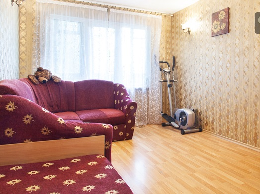 Двухкомнатная квартирапосуточно в Одессе. Киевский район, пр-т Адмиральский , 37. Фото 1