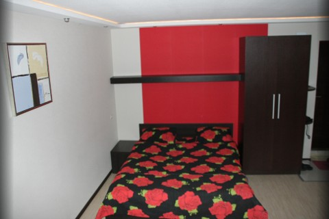 1-комнатная квартира посуточно в Харькове. Дзержинский район, пр. Ленина, 19а. Фото 1